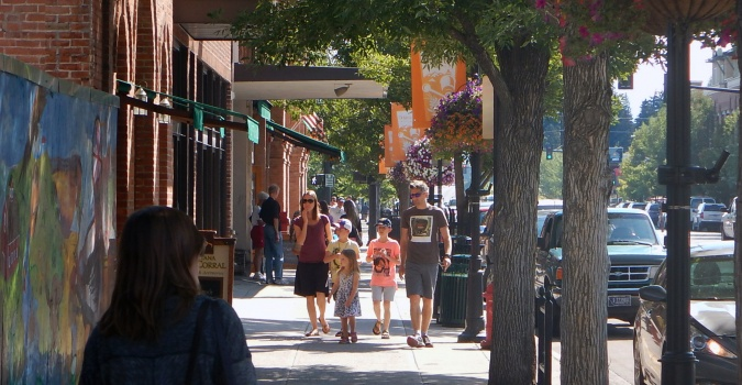 Bozeman is a regional commercial center for much of the south central region of Montana